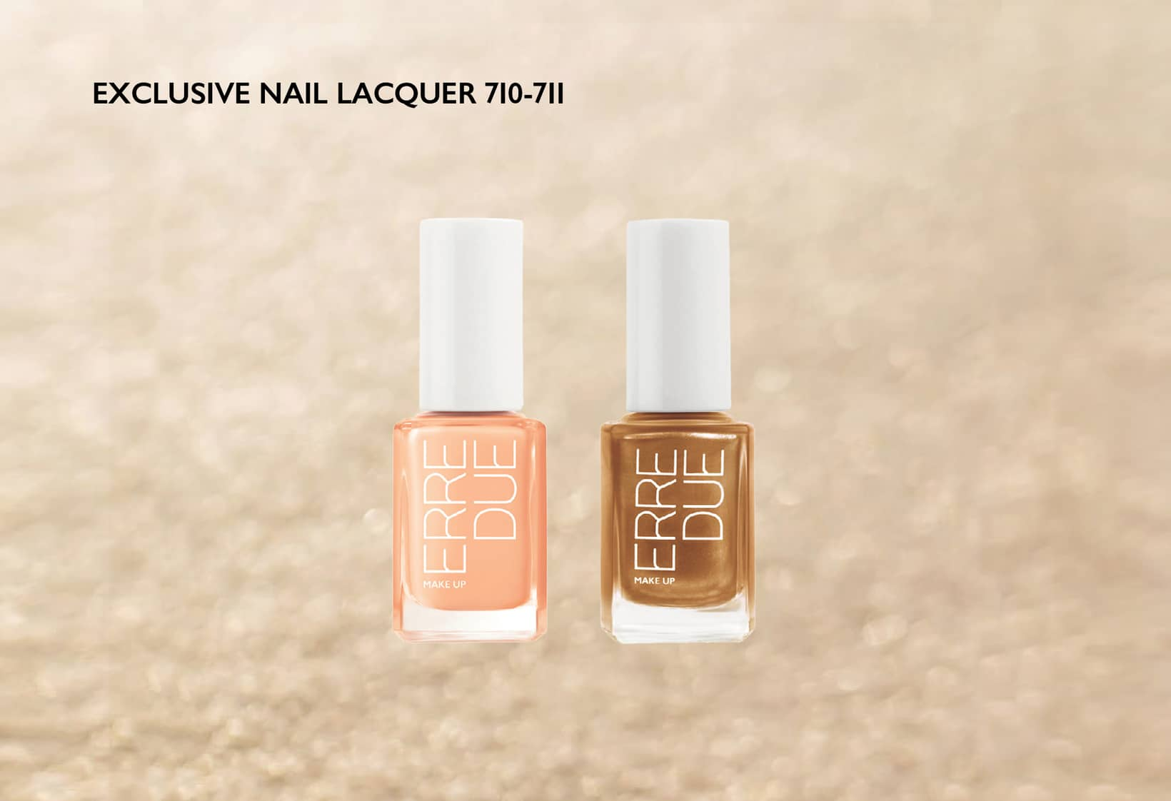 EXCLUSIVE NAIL LACQUER 710-711